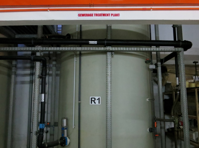 Park Hyatt Maldives Back of House Tour - Sewage Treatment