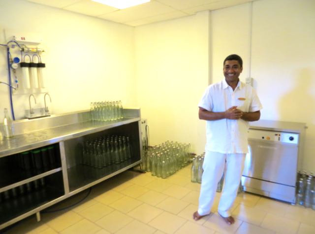 Park Hyatt Maldives Water Bottling