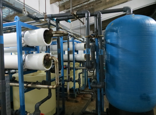 Park Hyatt Maldives Back of House Tour - Water Desalination