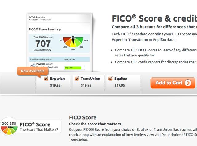 Experian FICO Score Finally Available via MyFICO