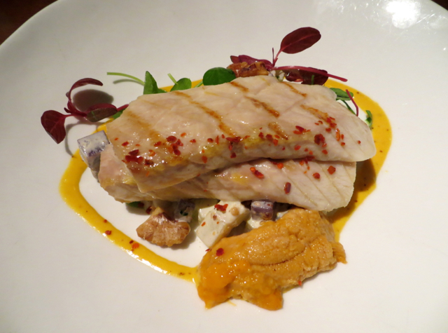 Gramercy Tavern NYC Restaurant Review - Grilled Sturgeon with Sea Urchin