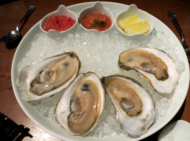 Gramercy Tavern NYC Restaurant Review - Oysters