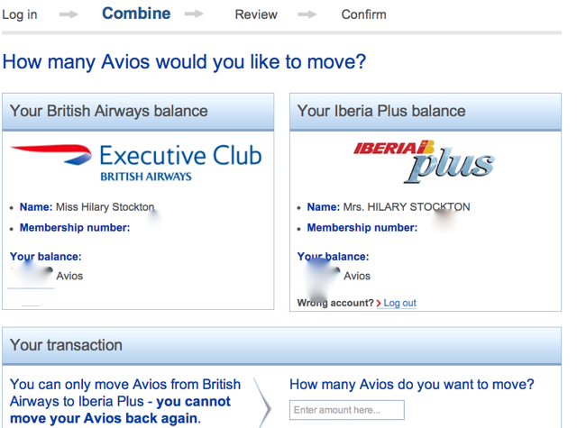 How to Transfer British Airways Avios to Iberia Plus to Avoid High Fuel Surcharges