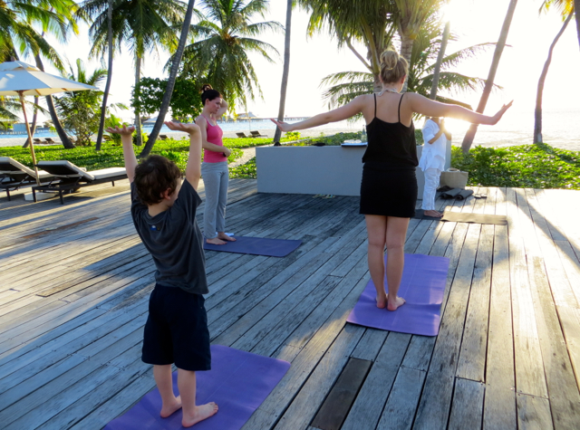 Park Hyatt Maldives Sunset Yoga