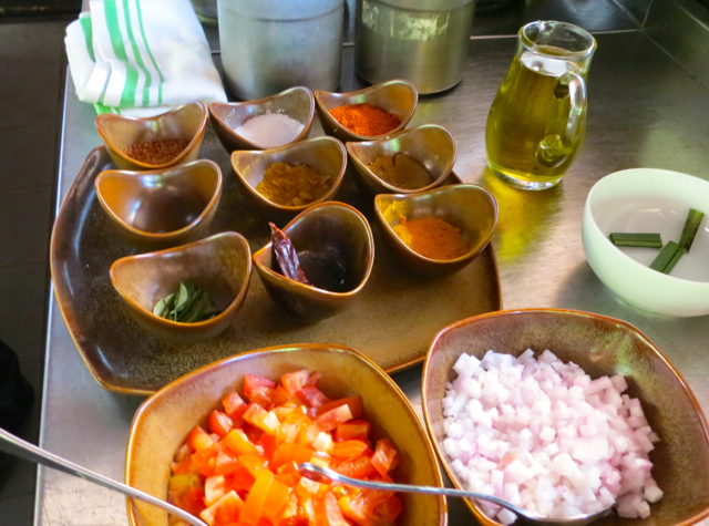 Park Hyatt Maldives Cooking Class- Spices and Ingredients