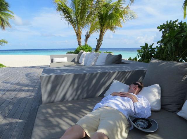 Park Hyatt Maldives Activities - Relaxing with a View