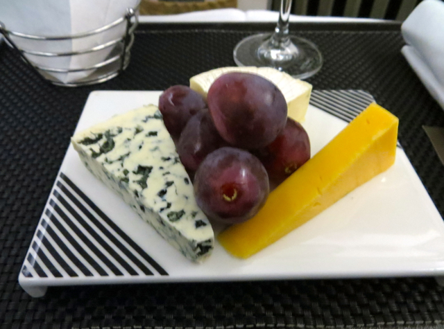 Etihad Business Class Review Male to Abu Dhabi - Cheese Plate
