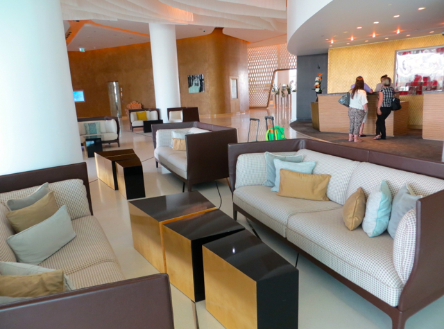Yas Viceroy Abu Dhabi Hotel Review - Reception and Lobby