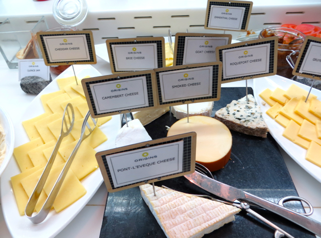 Yas Viceroy Abu Dhabi Hotel Review - Breakfast Buffet - Cheeses