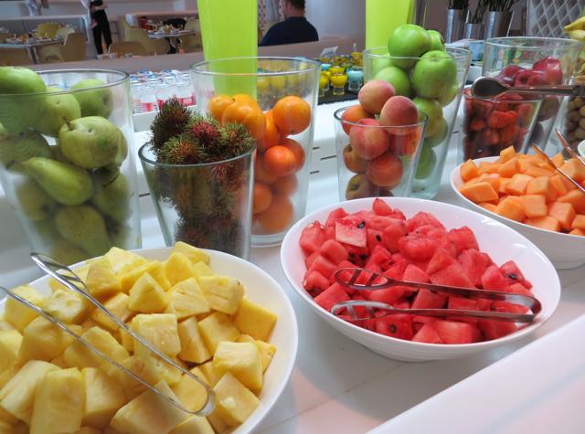 Yas Viceroy Abu Dhabi Hotel Review - Breakfast Buffet - Fruits