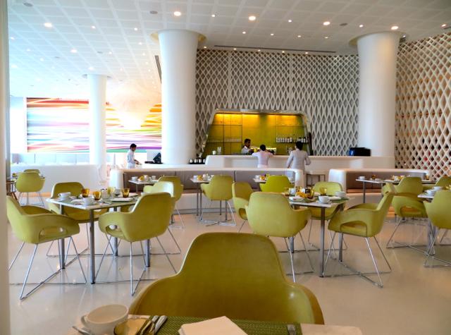 Yas Viceroy Abu Dhabi Hotel Review - Origins Restaurant