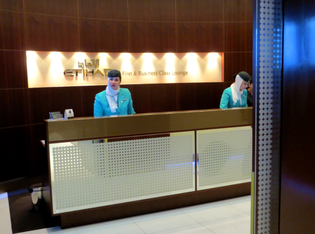 Etihad First Class Lounge Review, Abu Dhabi