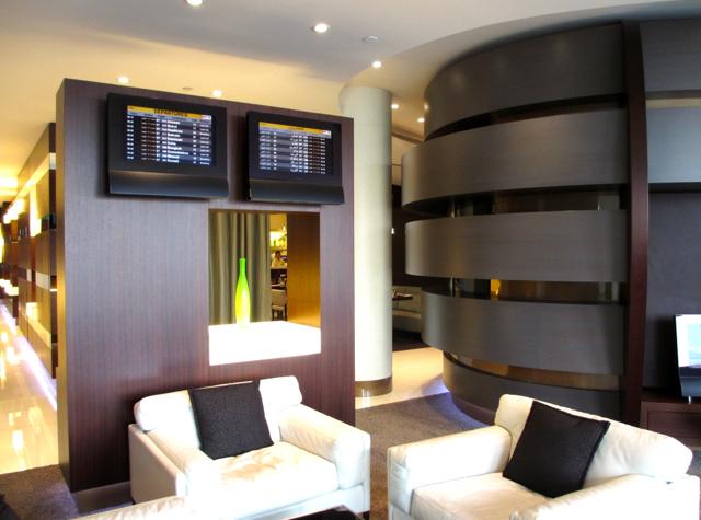 Etihad First Class Lounge Review Abu Dhabi - Seating
