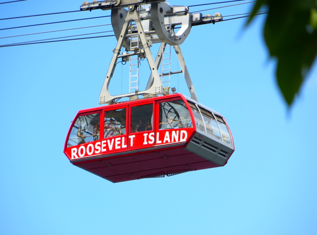 Roosevelt Island Tram And Franklin D Roosevelt Four