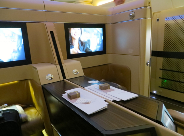 Etihad First Class Review - Suite 2D and Suite 2G