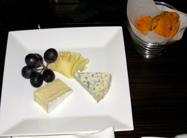 Etihad First Class Review - Cheese Plate
