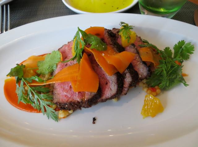 Boulud Sud NYC Restaurant Review - Marrakesh Spiced Steak