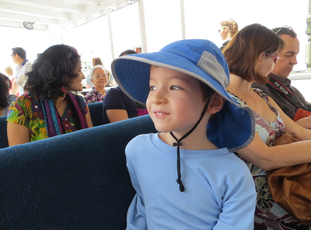 Governors Island Ferry, Top Deck