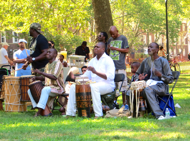 Governors Island - African Drumming