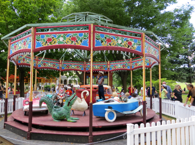 Governors Island - Fete Paradiso Vintage Carousel