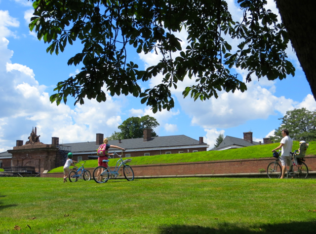 Governors Island Ferry, Bicycling and Family Fun