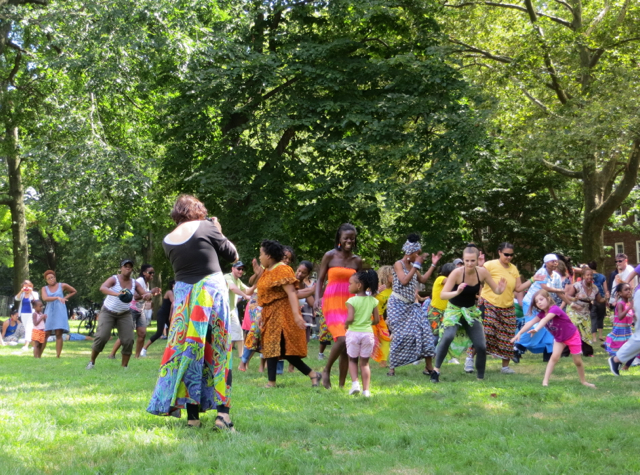 Governors Island - African Dancing