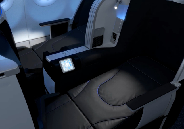 JetBlue Mint Suite and Business Class Flat Bed Seats