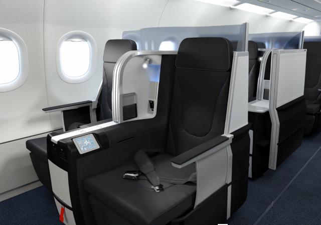 JetBlue: New Flat Bed Business Class Seats