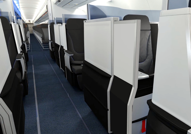 JetBlue: New Private Suite in Business Class on A321