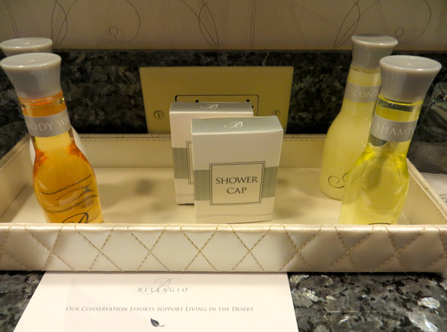 Bellagio Las Vegas Hotel Review: Virtuoso Benefits and Hyatt Points-Bath Amenities