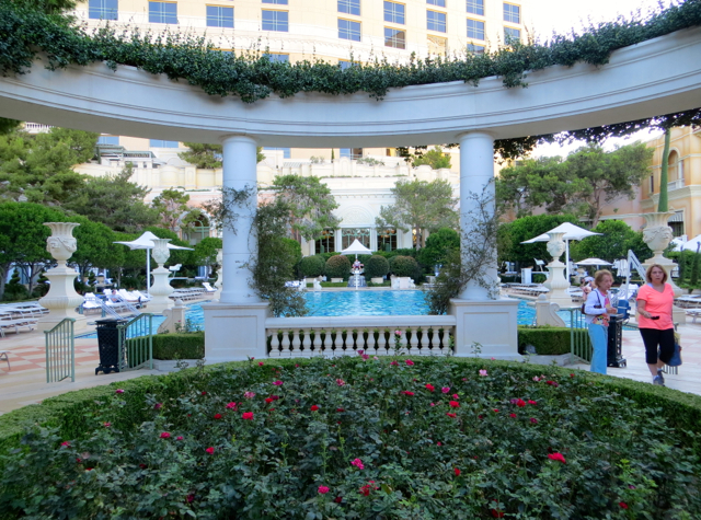Bellagio Las Vegas Hotel Review-Virtuoso Benefits and Hyatt Points - Pool
