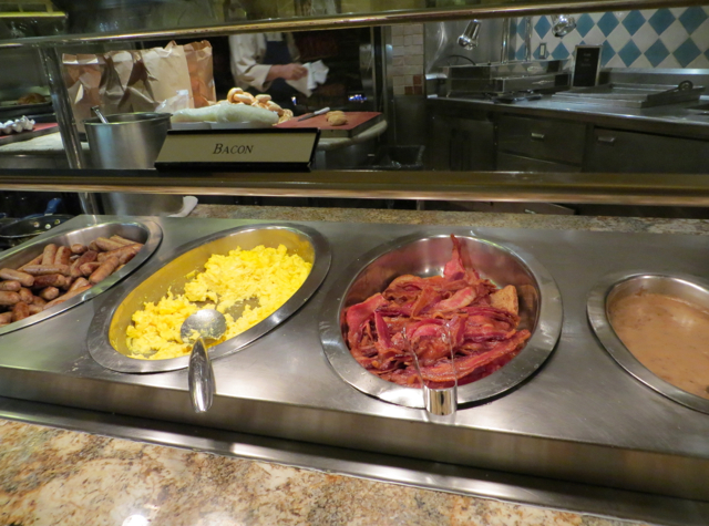 Eggs And Bacon Breakfast Buffet At The Bellagio
