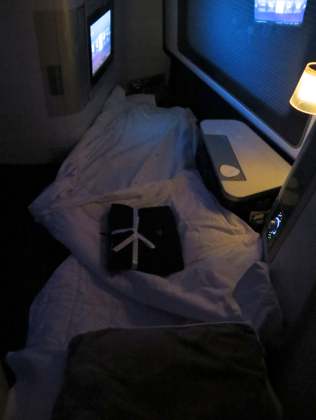 British Airways New First Class Review - 6 Foot 6 Inch Flat Bed