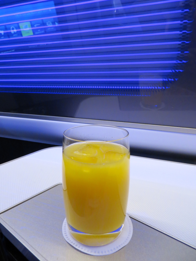 British Airways New First Class Review - Pre-Flight Drink