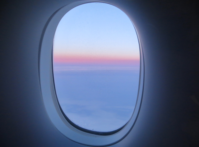 British Airways New First Class - Sunrise