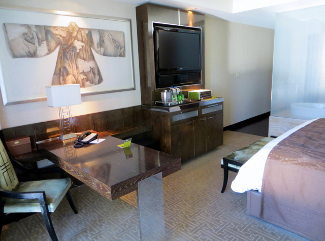 Mandarin Oriental Las Vegas Review - Strip View Room