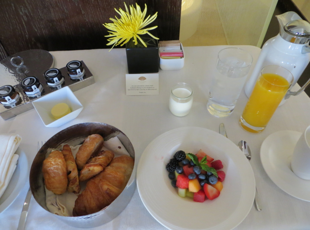 Mandarin Oriental Las Vegas Hotel Review - Breakfast