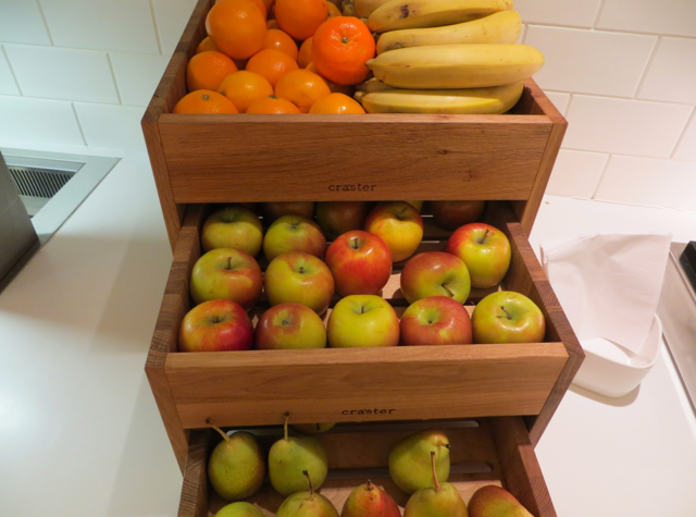 BA Galleries Arrivals Lounge Breakfast Fresh Fruits