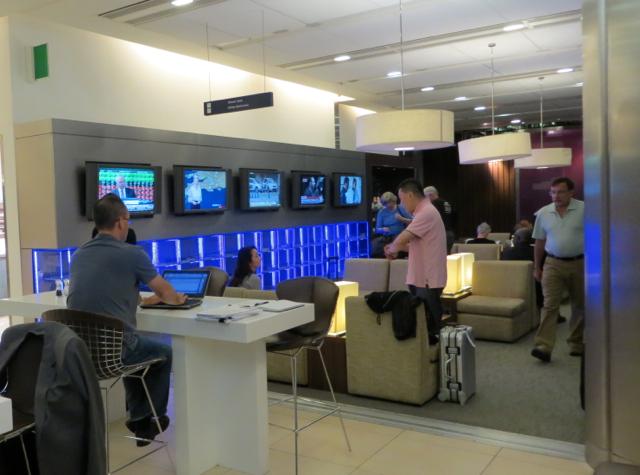 British Airways Galleries Arrivals Lounge - Seating