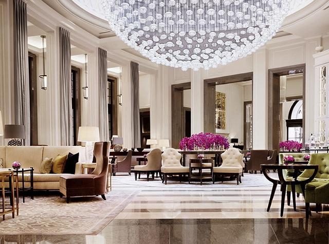 Corinthia Hotel London Review - Lobby Lounge