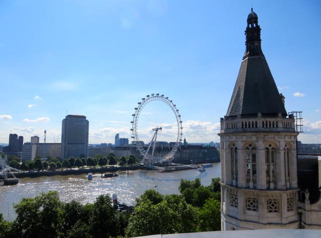 Corinthia Hotel London Review - Royal Penthouse Private Terrace View of London Eye