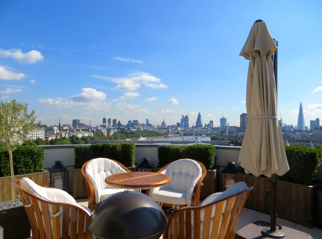 Corinthia Hotel London Review - Royal Penthouse - Terrace and Views
