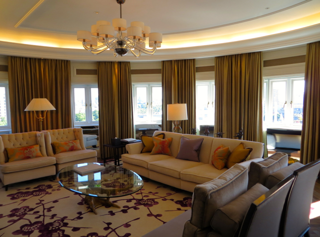 Corinthia Hotel London Review - Royal Penthouse Living Room