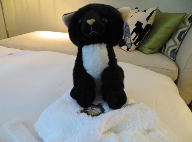 Corinthia Hotel London Review - Stuffed Animal and Child Bathrobe