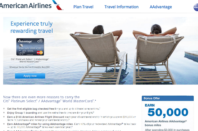 Citi AAdvantage: Official 50K AA Miles Offer But No More Churning?