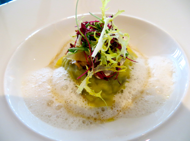 Petrus London Review: Ravioli of Duck Confit and Wild Mushrooms