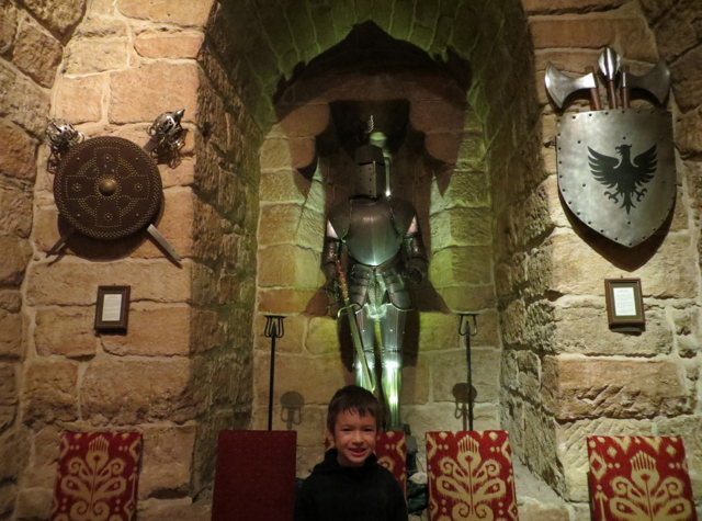 Dalhousie Castle Review Scotland - The Dungeon