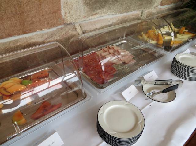 Dalhousie Castle Review - Breakfast Cold Cuts, The Orangery