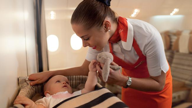 Etihad Flying Nannies Help Families with Childcare