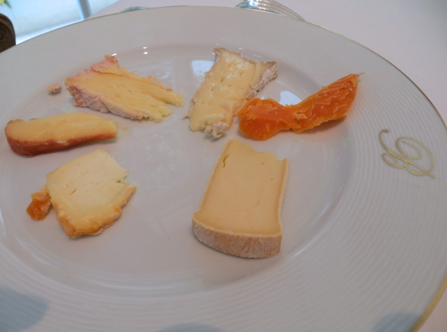 Epicure at Le Bristol Paris Restaurant Review - Cheese Plate